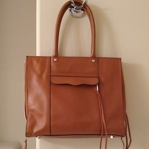 Rebecca Minkoff Leather Bag with Zipper Details